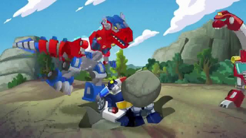 Transformers Rescue Bots TV Spot, 'Optimus Primal' - Thumbnail 4