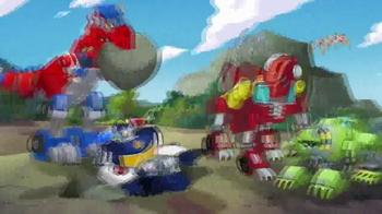 Transformers Rescue Bots TV Spot, 'Optimus Primal' - Thumbnail 5