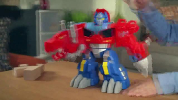 Transformers Rescue Bots TV Spot, 'Optimus Primal' - Thumbnail 6