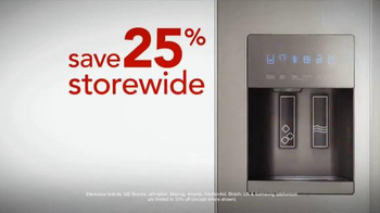 h.h. gregg Columbus Day Sale TV Spot, 'Save Big on Appliances' - Thumbnail 5