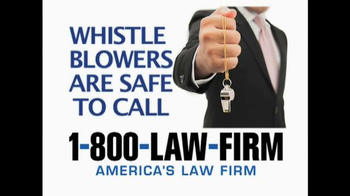 1-800-LAW-FIRM TV Spot, 'The Whistle Blowers' - Thumbnail 3