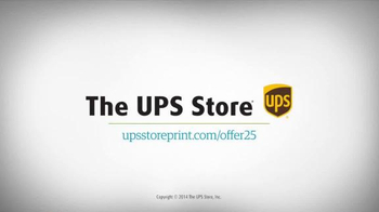UPS Store 25% Off Online Print Products TV Spot, 'Cards, Flyers and More' - Thumbnail 10