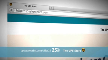 UPS Store 25% Off Online Print Products TV Spot, 'Cards, Flyers and More' - Thumbnail 4