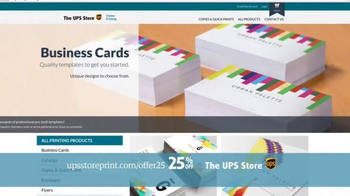 UPS Store 25% Off Online Print Products TV Spot, 'Cards, Flyers and More' - Thumbnail 5