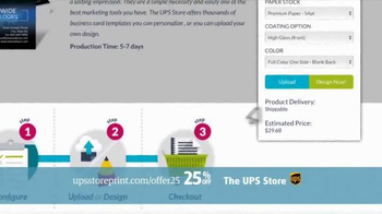UPS Store 25% Off Online Print Products TV Spot, 'Cards, Flyers and More' - Thumbnail 7
