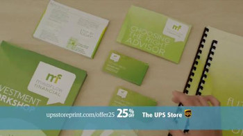 UPS Store 25% Off Online Print Products TV Spot, 'Cards, Flyers and More' - Thumbnail 9