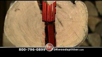 DR Rapid Fire Wood Splitter TV Spot, '1 Log, 1 Second'