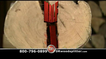 DR Rapid Fire Wood Splitter TV Spot, '1 Log, 1 Second'