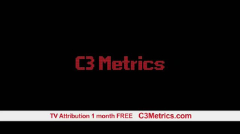 C3 Metrics TV Spot, 'TV Attribution' - Thumbnail 6