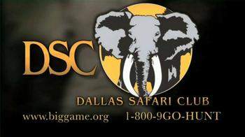 Dallas Safari Club TV Spot, 'Walking the Walk' Featuring Jim Shockey - Thumbnail 10