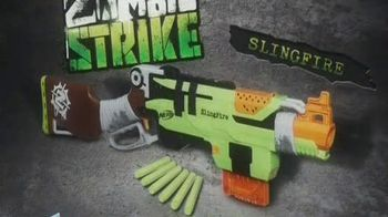 Nerf Zombie Strike Slingfire Blaster TV Spot, 'Conquer the Zombies'