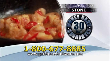 Stone Cookware TV Spot, 'Healthy and Delicious' - Thumbnail 9
