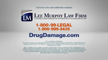 Lee Murphy Law TV Spot, 'Drug Damage' - Thumbnail 10