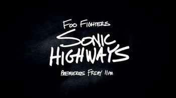 HBO TV Spot, 'Sonic Highways' - 14 commercial airings