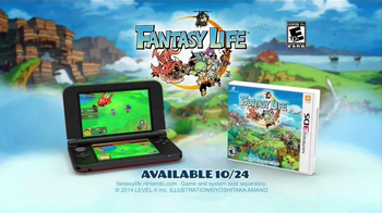 Fantasy Life TV Spot, 'Start a Life' - Thumbnail 10