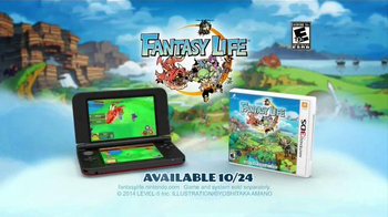 Fantasy Life TV Spot, 'Start a Life' - Thumbnail 9