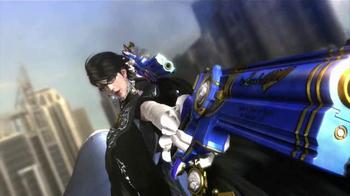 Bayonetta 2 TV Spot, 'Pistol Studded Stiletto Wearing Witch' - Thumbnail 4