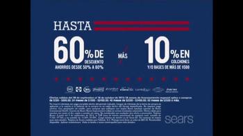 Sears Columbus Day Espectacular de Colchones TV Spot, '' [Spanish] - Thumbnail 3