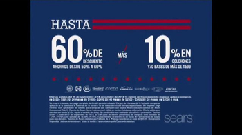 Sears Columbus Day Espectacular de Colchones TV Spot, '' [Spanish] - Thumbnail 4