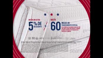 Sears Columbus Day Espectacular de Colchones TV Spot, '' [Spanish] - Thumbnail 6