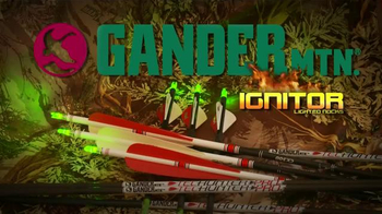 Gander Mountain Ignitor Lighted Nocks TV Spot, 'Beyond What you See' - Thumbnail 10