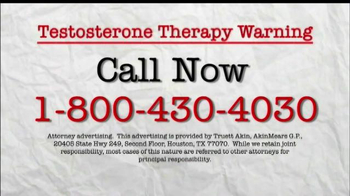 AkinMears TV Spot, 'Testosterone Therapy Warning' - Thumbnail 3
