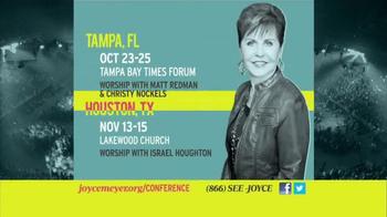 2014 Joyce Meyer Conferences TV Spot - Thumbnail 10