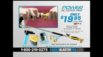 Power Blaster Pro TV Spot, 'Cleans Like a Machine' - Thumbnail 8