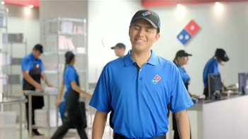 Domino's Pizza TV Spot, 'Mini Robot' [Spanish] - Thumbnail 4