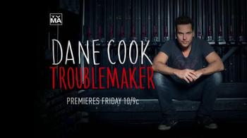 Showtime TV Spot, 'Dane Cook Troublemaker' - Thumbnail 7