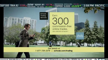 Charles Schwab Trading Services TV Spot, 'A Walk in the Park'