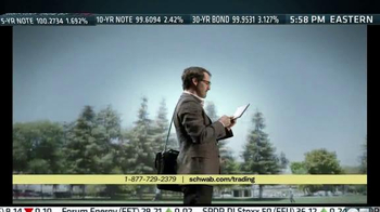 Charles Schwab Trading Services TV Spot, 'A Walk in the Park' - Thumbnail 7