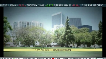 Charles Schwab Trading Services TV Spot, 'A Walk in the Park' - Thumbnail 8