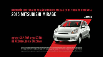 2015 Mitsubishi Mirage TV Spot, 'Find Your Own Lane' [Spanish] - Thumbnail 8