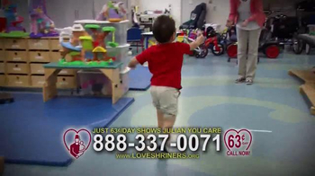Shriners Hospitals For Children TV Spot, 'Parents of Julian'