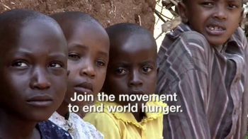 World Hunger Relief TV Spot, 'Hunger to Hope' - Thumbnail 4
