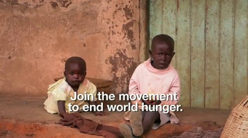World Hunger Relief TV Spot, 'Hunger to Hope' - Thumbnail 5