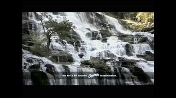 Charmin TV Spot, 'Intermission: Waterfalls' - Thumbnail 7