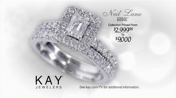 Kay Jewelers TV Spot, 'Red Carpet Proposal: Neil Lane Bridal' Ft. Neil Lane - Thumbnail 5