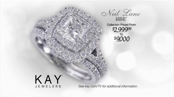 Kay Jewelers TV Spot, 'Red Carpet Proposal: Neil Lane Bridal' Ft. Neil Lane - Thumbnail 6