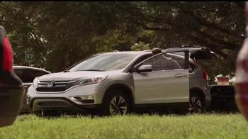 2015 Honda CR-V Touring TV Spot, 'Made for Fun' Song by Portugal. The Man - Thumbnail 3