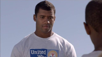 United Way TV Spot, 'United Way & NFL Play' Featuring Russell Wilson - Thumbnail 2