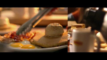 Denny's Pumpkin Pancakes Breakfast TV Spot, 'Pumpkin Season' - Thumbnail 4