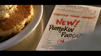 Denny's Pumpkin Pancakes TV Spot, 'New! Pumpkin Pancakes for $4.99' - Thumbnail 10