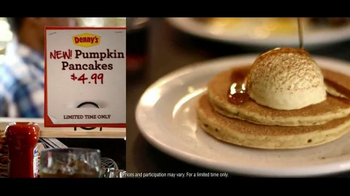 Denny's Pumpkin Pancakes TV Spot, 'New! Pumpkin Pancakes for $4.99' - Thumbnail 6