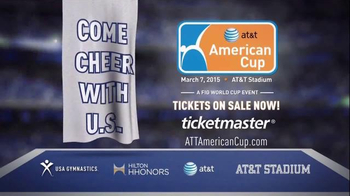 2015 AT&T American Cup TV Spot, 'Come Cheer With Us' - Thumbnail 10
