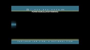 Parilman & Associates TV Spot, 'Power Morcellator Warning' - Thumbnail 1