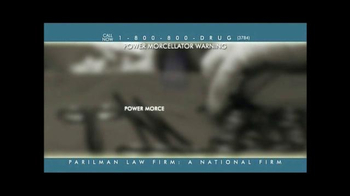 Parilman & Associates TV Spot, 'Power Morcellator Warning' - Thumbnail 2