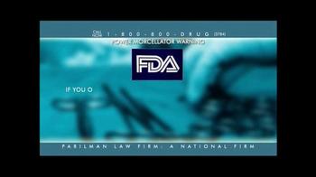 Parilman & Associates TV Spot, 'Power Morcellator Warning' - Thumbnail 6