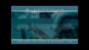 Parilman & Associates TV Spot, 'Power Morcellator Warning' - Thumbnail 8